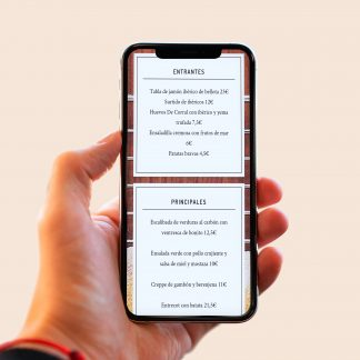 carta digital para restaurantes qr
