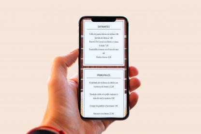 carta digital para restaurantes qr